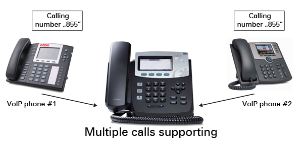 multiple phone call support